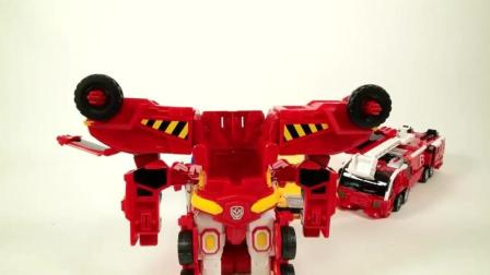 小警车和消防车, 校车在变身, 不一样的汽车, 变形金刚