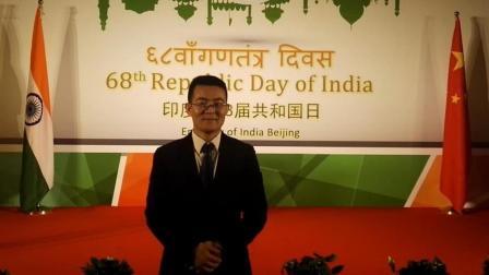 常世民出席印度第68届共和国日