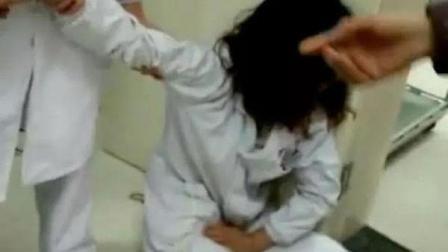 实拍: 城管局长妻子殴打怀孕护士致其先兆流产, 局长被免职