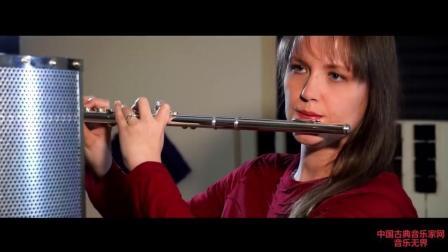 音乐无界: 美女长笛演奏印度曲《Only You》, 舞者与长笛完美表演