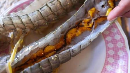 恐怖! 泰国的明星美食, 竟是30CM长的。。。