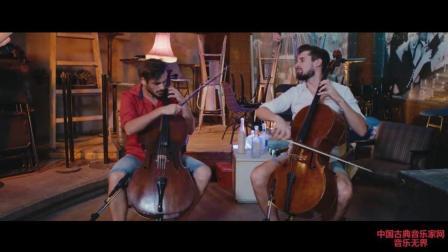 音乐无界: 提琴双杰2CELLOS劲爆演绎《Despacito》, 好听到极致!