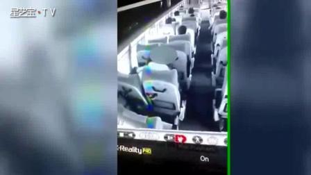 监控曝光! 印度老师公交车后座强奸19岁女学生
