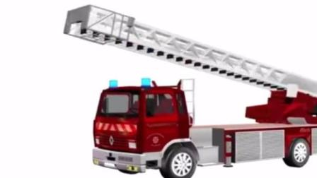 汽车总动员玩具视频 赛车总动员 变形警车珀利 挖掘机 工程车25