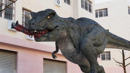 科幻网剧《恐龙和外星人》第5集:救龙有望