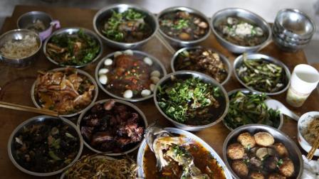 农村美食坝坝席, 四川乡村八大碗, 还是儿时的那个味道么