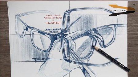 眼镜产品设计手绘方案