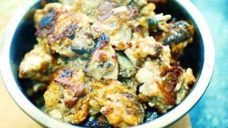 中国最好吃的面包鸡 的做法。