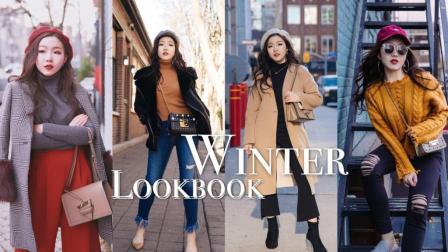 暖冬穿搭合集| 6 outfits for warm winter