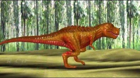 恐龙总动员之恐龙与狮子对决玩具动画视频27
