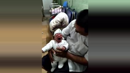 小婴儿声嘶力竭地大哭, 竟无人管, 最后宝宝发生了这一幕, 真揪心