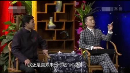 杨帆成了刘欢, 朱之文变成了老年费玉清, 两人都对朱迅感兴趣, 不信您不笑