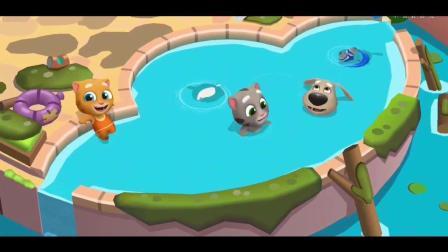 家族系列游戏之 教你怎么玩汤姆猫水上乐园