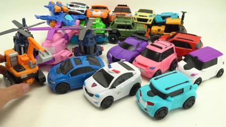 托宝变形机器人玩具 变形直升机, 变形汽车玩具