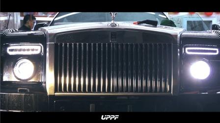 劳斯莱斯幻影敞篷全车装贴UPPF漆面保护膜/隐形车衣