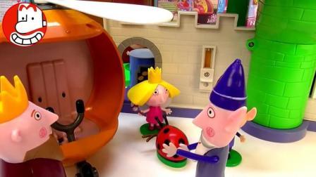 本和霍利的小王国玩具 超级飞侠 光头强喜羊羊 爱闹大叔