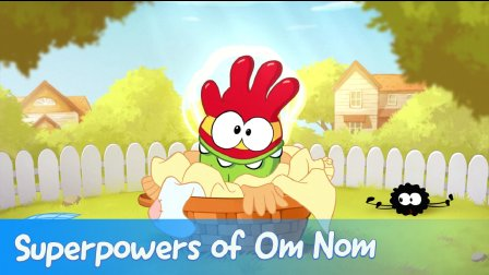 Cut the Rope: Experiments - Superpowers of Om Nom