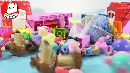 本和霍利玛莎与熊小猪佩奇伶玩具爱闹大叔