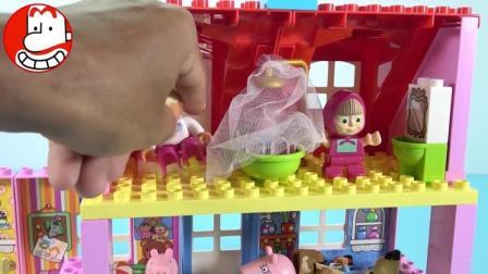 熊熊乐园小猪佩奇 本和霍利玩具 爱闹大叔