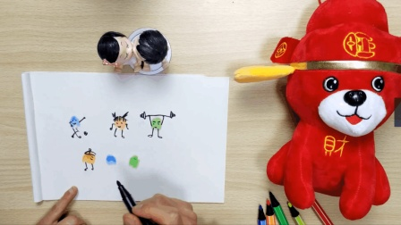 指纹简笔画教学, 3-7岁孩子最爱! 宝妈们快速收藏啦!