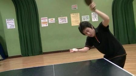 原来日本也有人乒乓球玩的这么好
