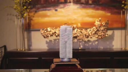 玉雕人坚持还原5000年国宝。为弘扬中国文化