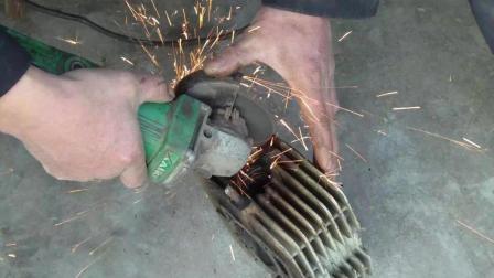 如何巧拆摩托车缸排气管段螺丝, 这个办法真实用