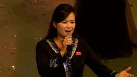 朝鲜艺术团首尔演出 玄松月团长亲自登台演唱 演唱会高潮迭起