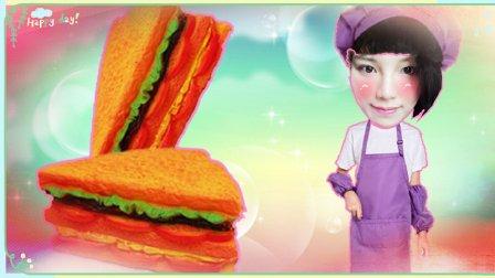 迪迪烹饪大师特制三明治蛋糕