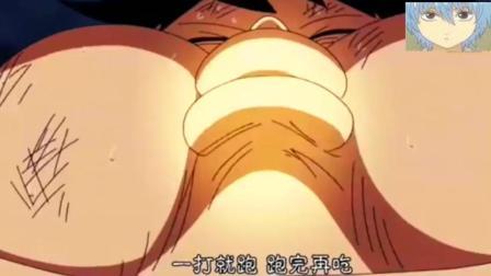 海贼王: 路飞最强的不是橡胶果实能力, 而是无敌大胃王, 连将星都无可奈何