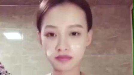 孙怡分享日常洁面卸妆过程 素颜皮肤超好