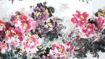 李晓明工笔画教学 国画大师画马技巧视频