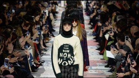 Christian Dior 2018秋冬巴黎时装发布会!