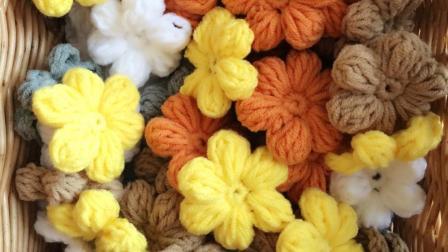 织一片慢生活----消灭零线  单元花片钩织方法