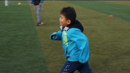 【6岁半】12-11哈哈踢足球训练,两队分组对抗IMG_9360