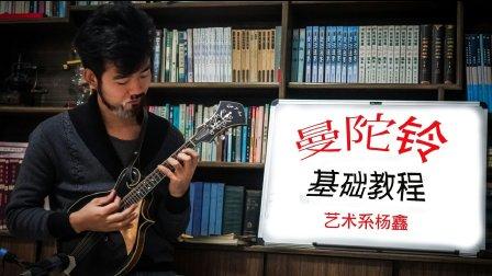 【入门自学】曼陀铃教程 视频教学 第一讲<下> By__艺术系杨鑫