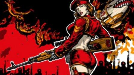 夏露《红色警戒3》苏军02 最高难度中字攻略解说: 叛乱的闹剧(克拉斯纳-45)【游戏地域】