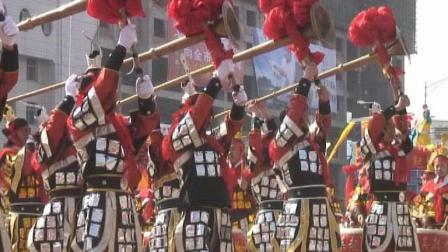 正月十五延安过大年秧歌展演之吴起老鼓