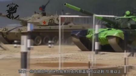 中国坦克手, 国际军事比赛举起红旗前, 在60度车舱中呆了70分钟