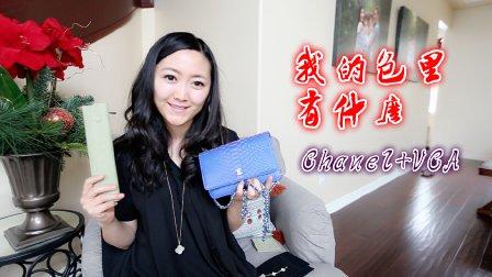 MelodyBlur-最近购物+我的包里有什么 Chanel WOC + VCA