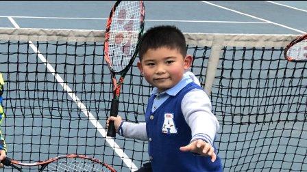 【6岁半】12-22哈哈网球训练,正手反手击球IMG_5002