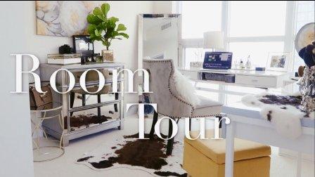 ROOM TOUR 来参观我的化妆间吧!(一间啥都有的房间? 衣柜/化妆台/书桌