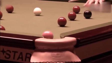 比赛中丁俊晖愤怒的一刻, 怒拍球桌 一杆把球打到球台外