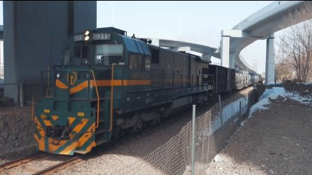 [火车]ND5+罐车 通过 宁芜线