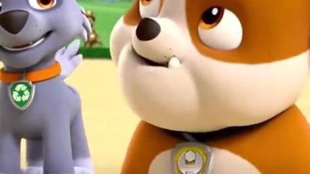 汪汪队立大功 莱德训练狗狗   还和狗狗们一起做游戏