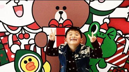 【6岁半】12-1哈哈小学一年级英语课唱英文歌背诵课文