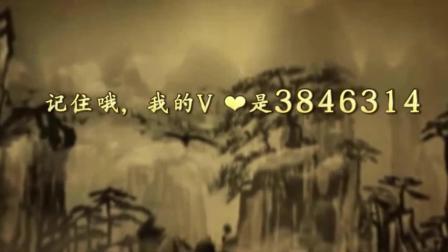 书法字体书法视频, 书写岳飞《满江红钢笔书法