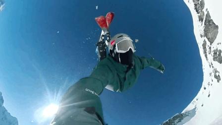 滑雪为什么会上瘾? 看这个视频就知道了