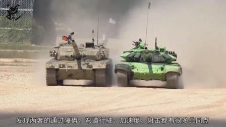 美军看过96式与T84坦克比赛后, 订购一辆T84, 以研究中国VT4
