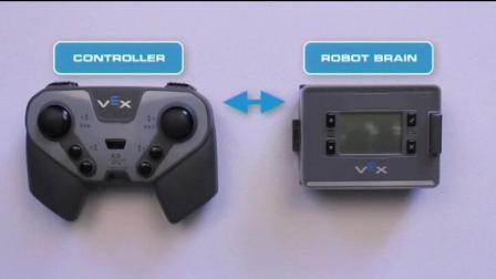 VEX IQ遥控器和主控器无线配对设置
